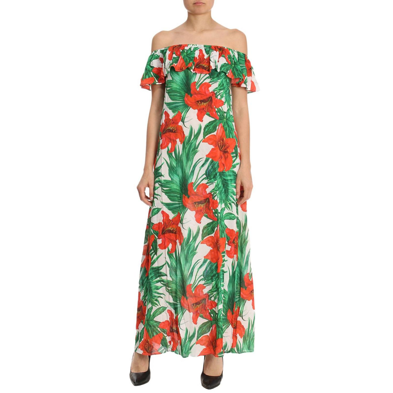 Kleid Damen Mc2 Saint Barth