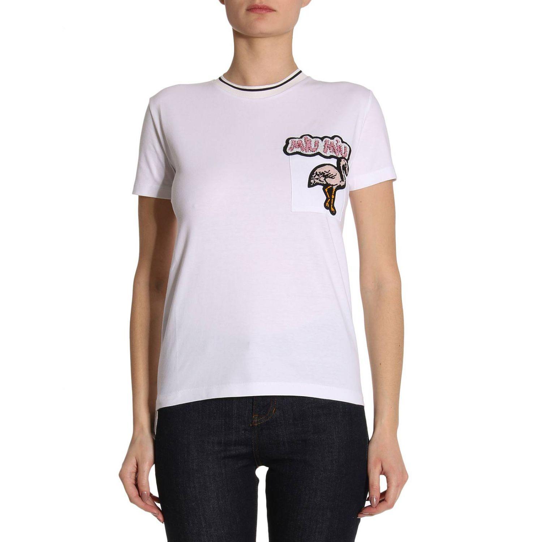 T-shirt Damen Miu Miu