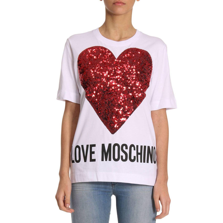 T-shirt Damen Moschino Love