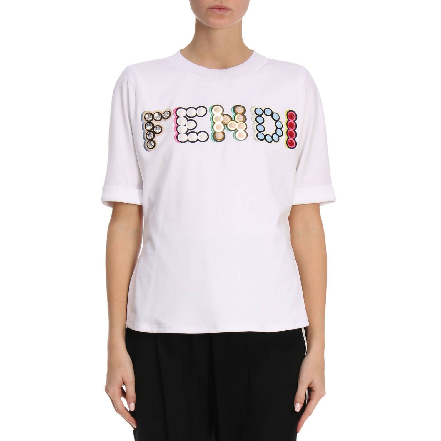 T-shirt Damen Fendi