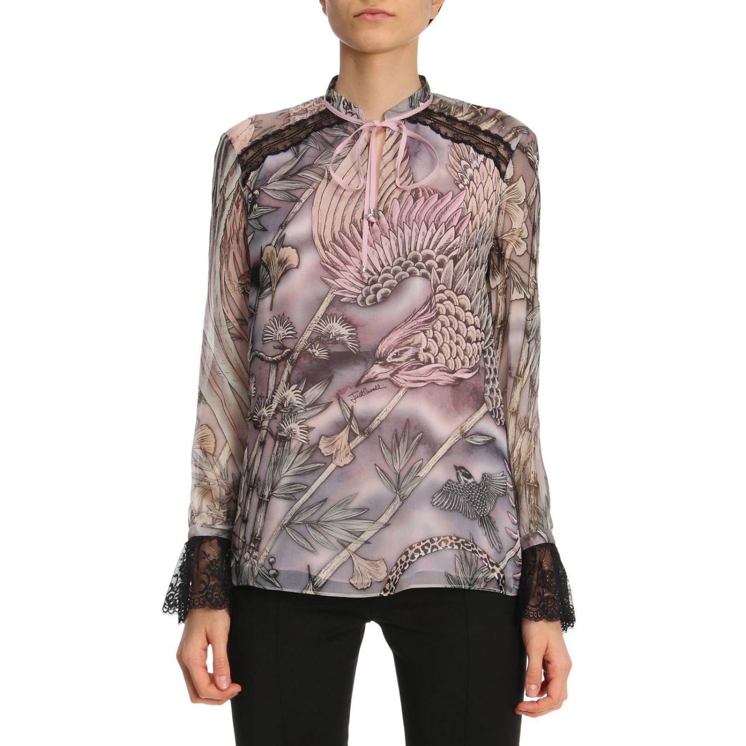 Hemdbluse Damen Just Cavalli