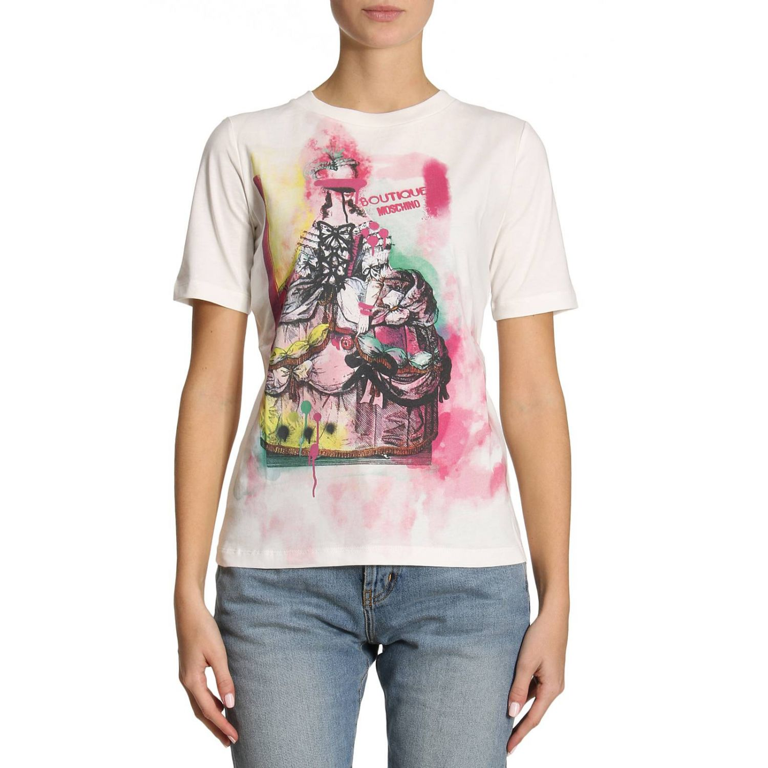 T-shirt Damen Boutique Moschino