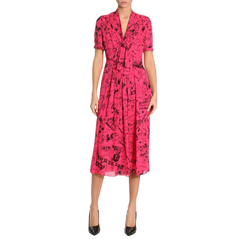 Kleid Damen Burberry
