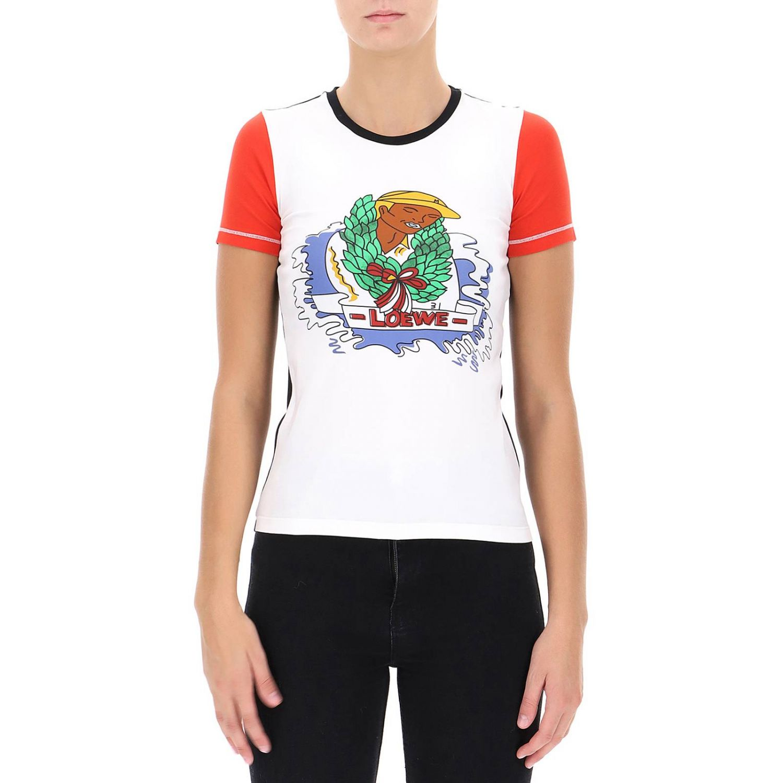 T-shirt Damen Loewe