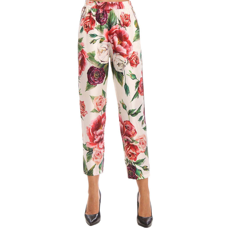 Hose Damen Dolce & Gabbana