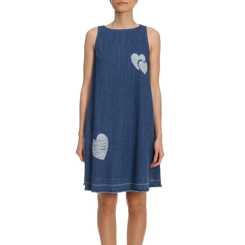 Kleid Damen Moschino Love